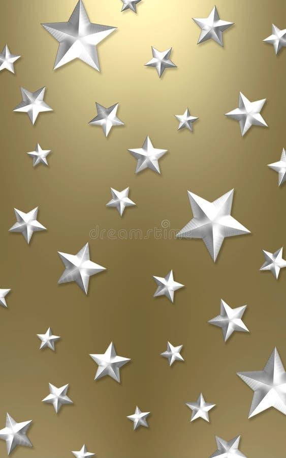 Elegant star background royalty free stock image