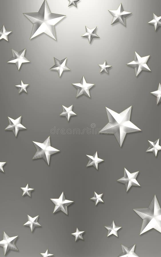 Elegant star background royalty free stock photography