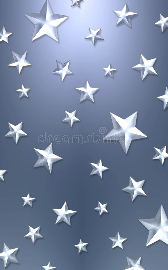 Elegant star background stock photography