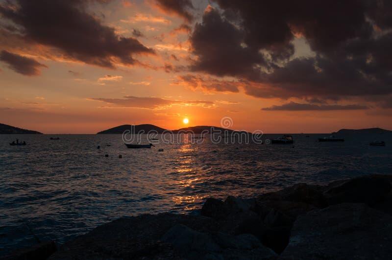 Elegant Sunset royalty free stock image