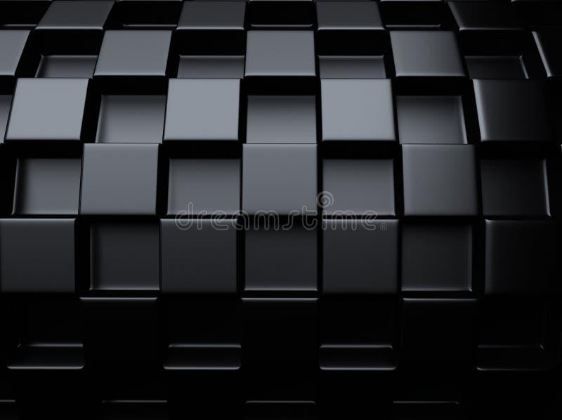 Metallisk bakgrund för schack vektor illustrationer