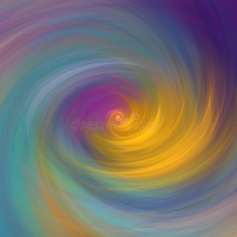 Elegant swirl abstract art in pastel colors. Creative background for booklets, labels, flyers, covers and posters. Template design for product decoration stock illustration