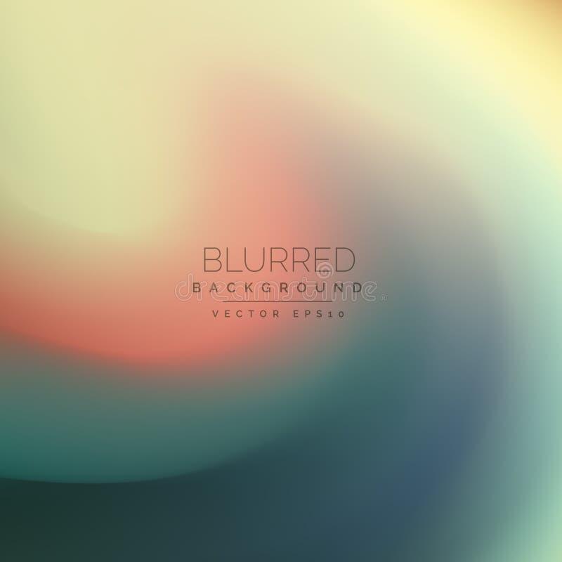 Elegant swirl blurred background vector vector illustration