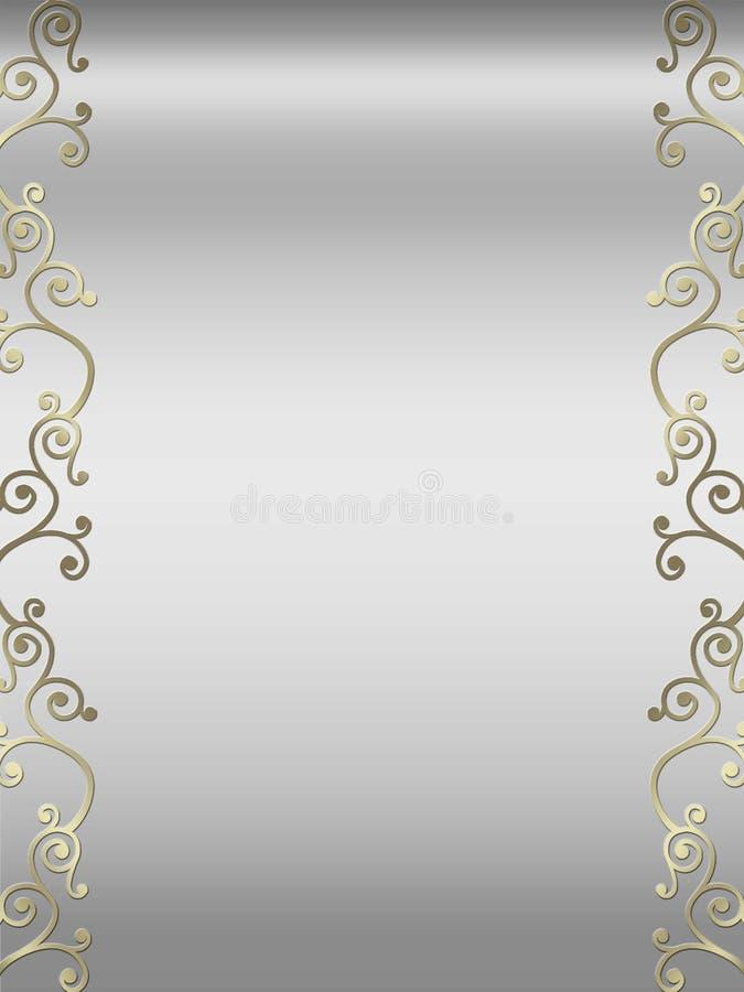Free Elegant Swirl Design Border Royalty Free Stock Photos - 5233918
