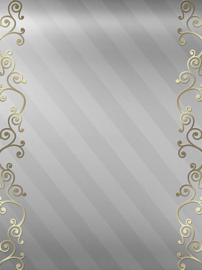Download Elegant Swirl Design Border Stock Illustration - Image: 5233923
