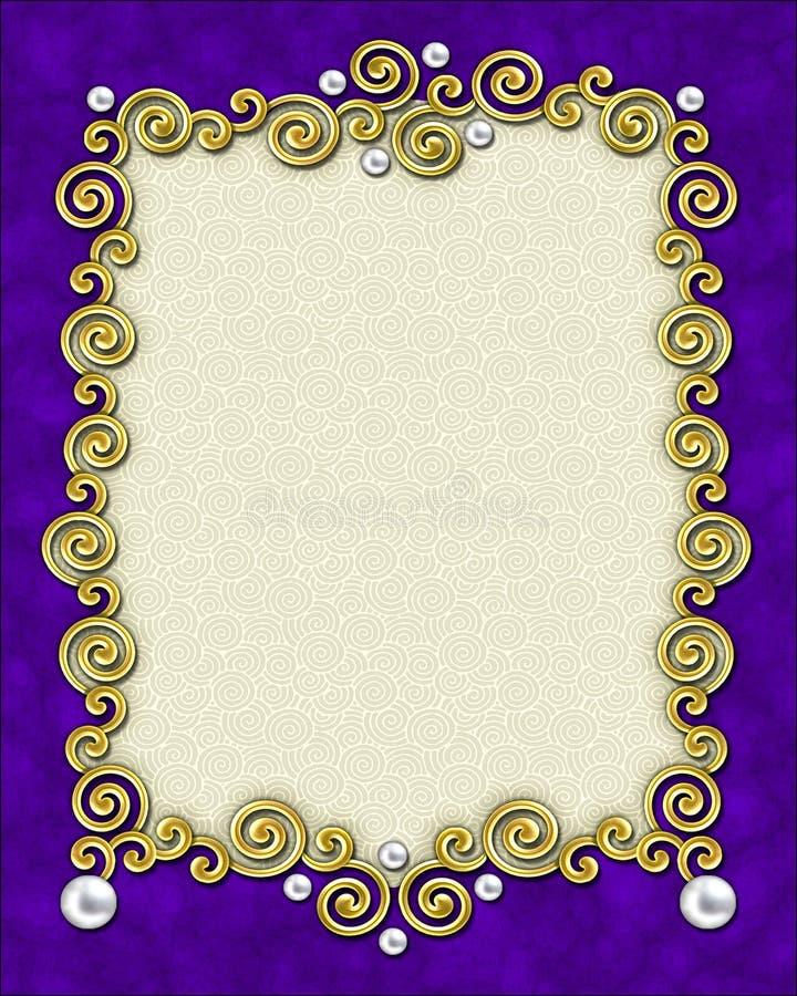 Free Elegant Swirl Frame Royalty Free Stock Photo - 1591435