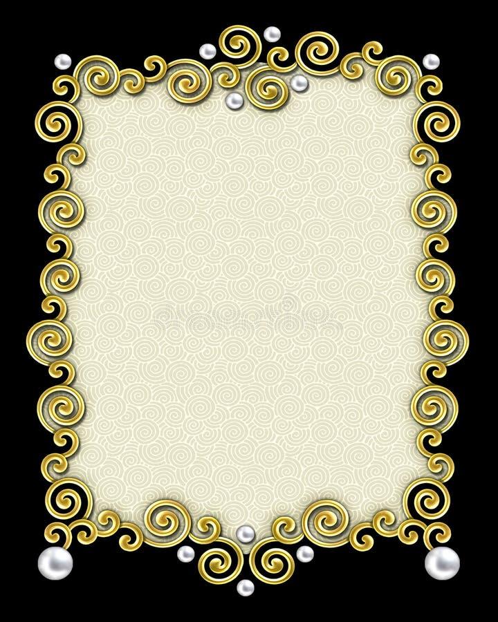 Free Elegant Swirl Frame Royalty Free Stock Photos - 2261238