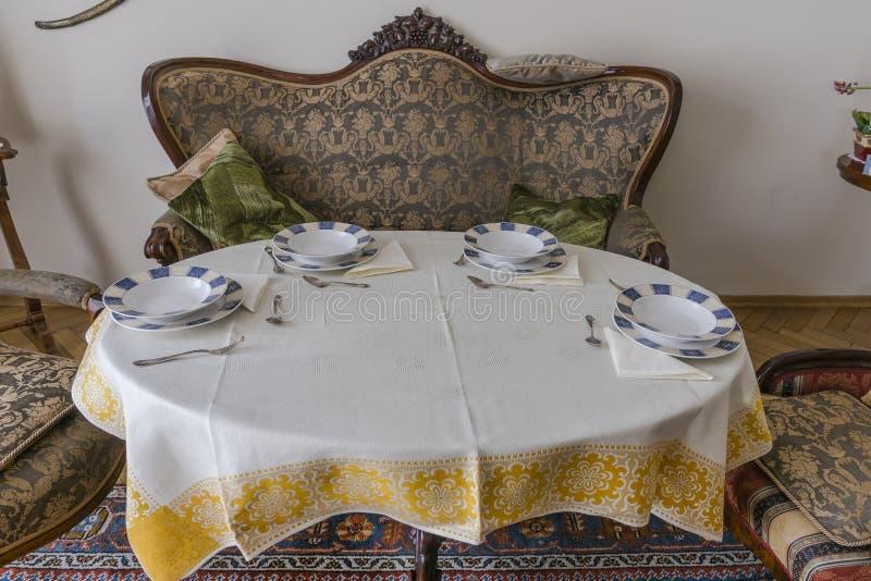 Elegant Table set royalty free stock image