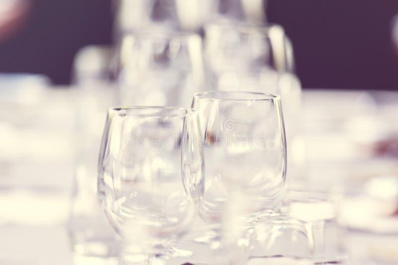 Elegant table set royalty free stock photos