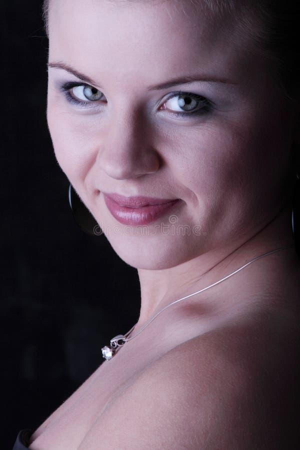 elegant teen kvinna arkivbilder