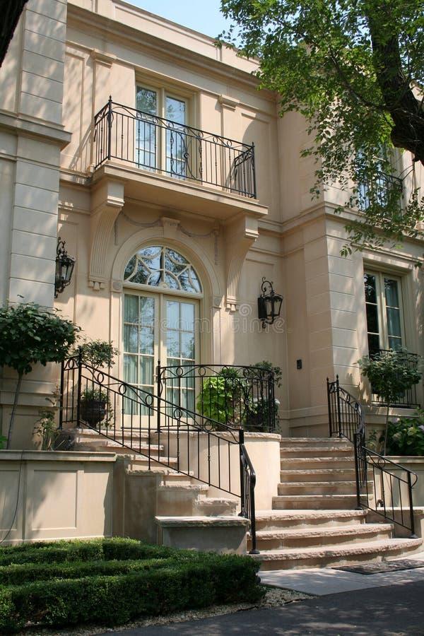 Elegant townhouse royalty free stock photo