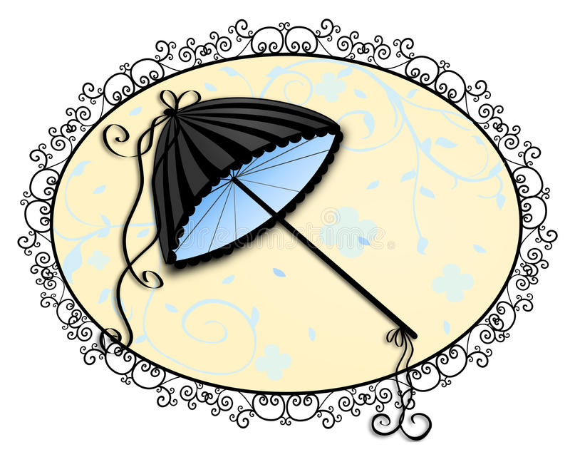 Download Elegant Umbrella stock illustration. Image of elegant - 27919493
