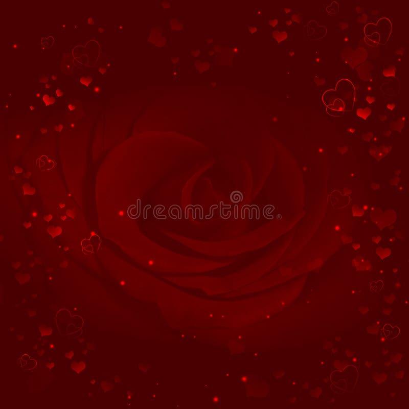 Elegant valentinbakgrund vektor illustrationer
