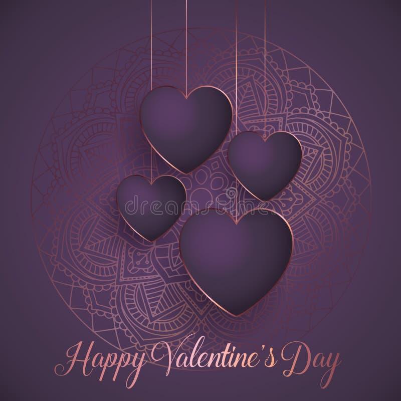 Free Elegant Valentine`s Day Background Royalty Free Stock Images - 137661999