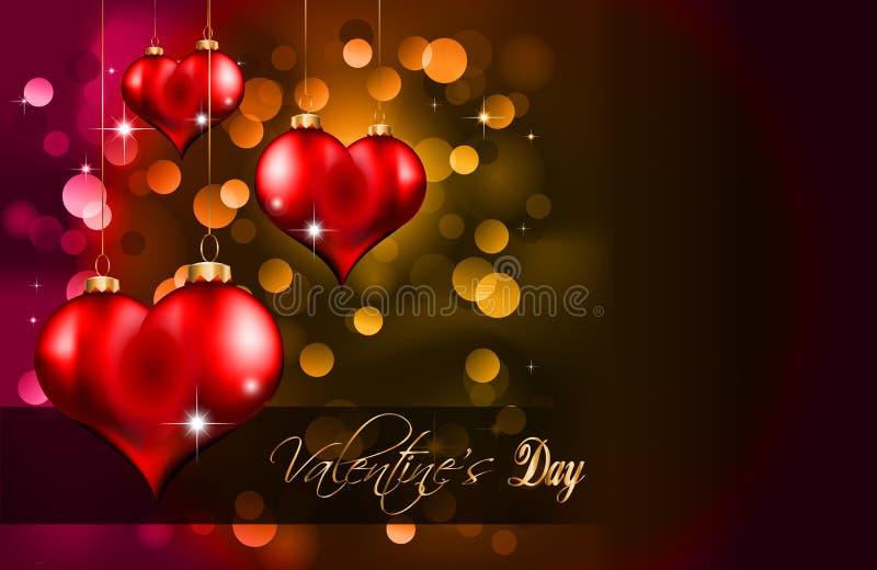 Elegant  Valentine S Day Flayer Royalty Free Stock Photography