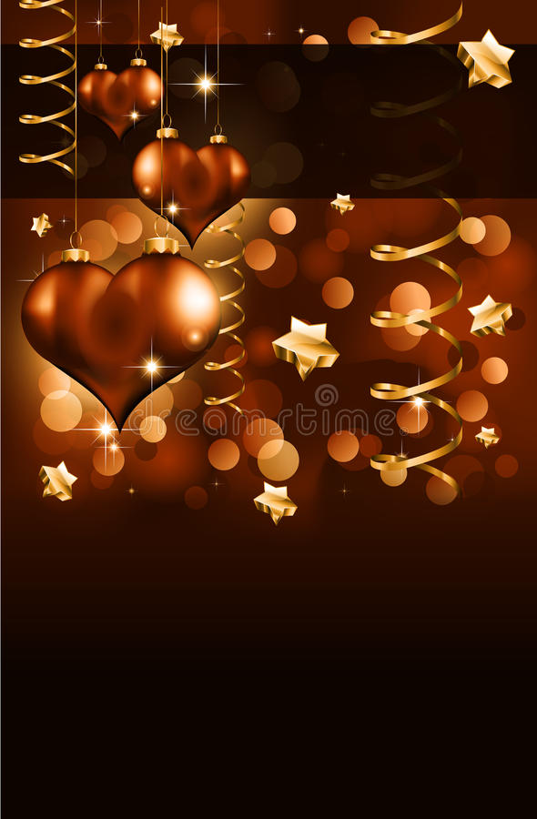 Download Elegant  Valentine's Day Flayer Stock Vector - Image: 18158418