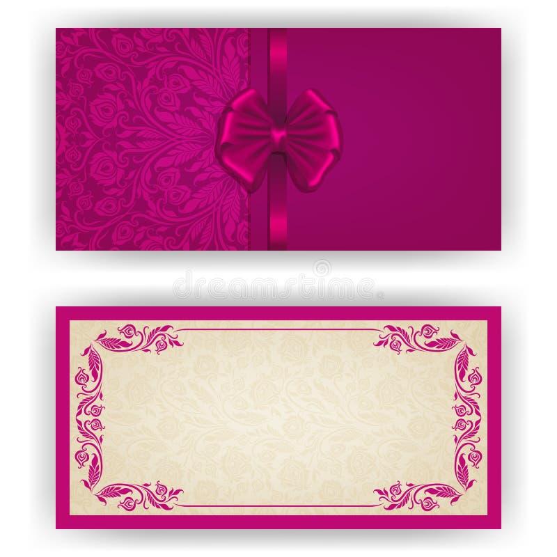 Elegant vector template for invitation card stock vector download elegant vector template for invitation card stock vector illustration of frame modern stopboris Images