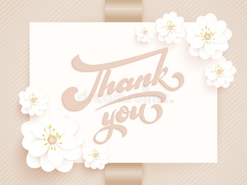 Elegant vector thank you vector invitation card with background and download elegant vector thank you vector invitation card with background and frame with flower elements stopboris Images