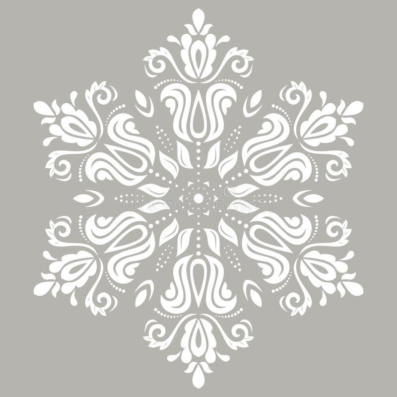 Elegant Vectorornament in Klassieke Stijl vector illustratie