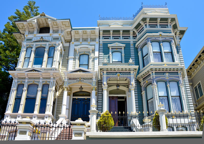 Lovely Download Victorian Duplex In San Francisco Editorial Photography   Image Of  Architecture, Luxurious: 29820607 Ideas