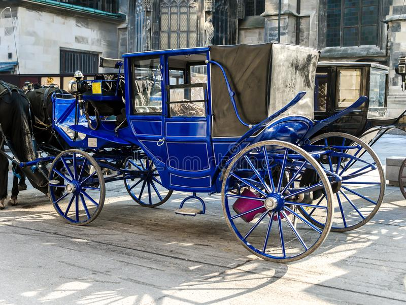 Viennesse Carriages stock photography