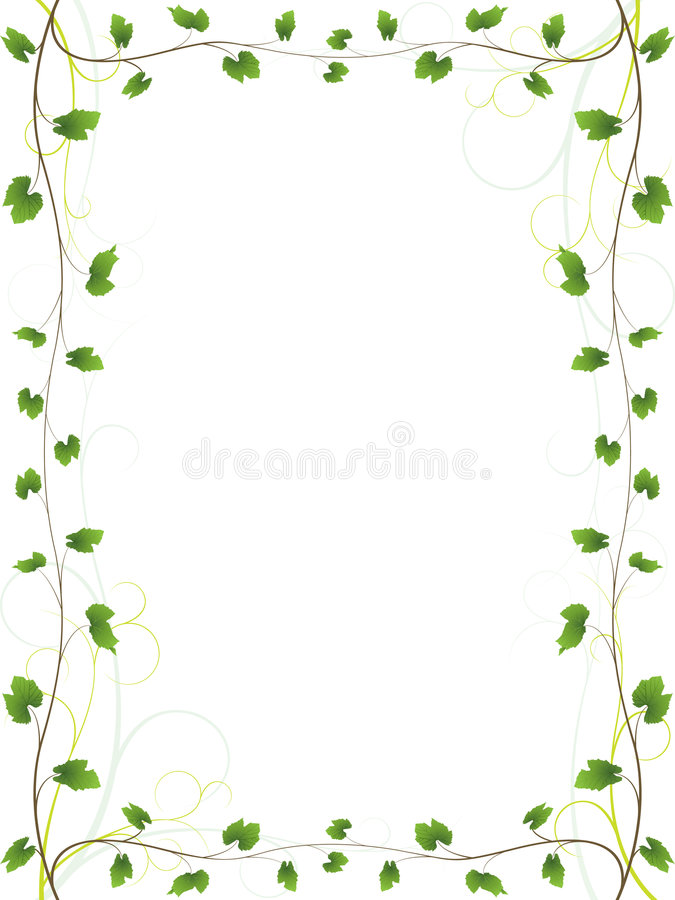 Free Elegant Vine Border Royalty Free Stock Photos - 5980098