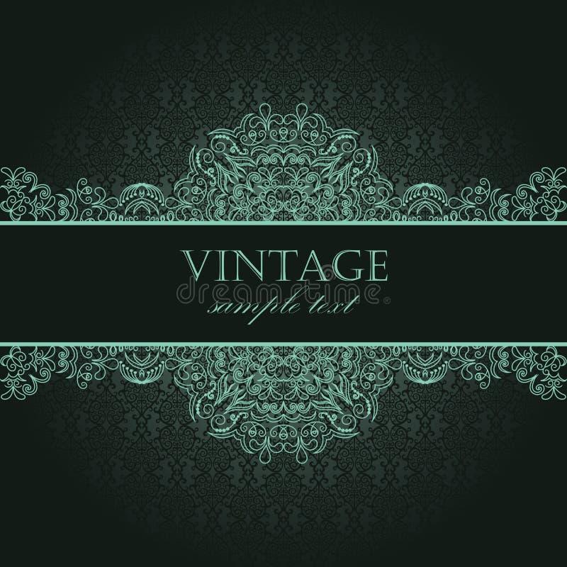 Download Elegant vintage card stock vector. Illustration of charming - 25008017