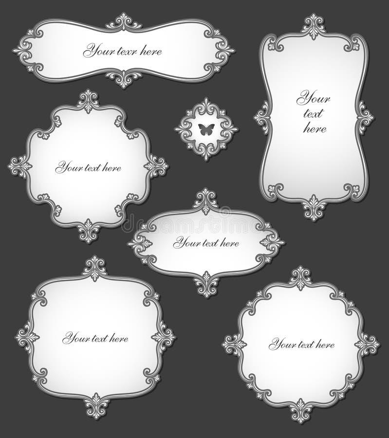 Download Elegant Vintage Labels Royalty Free Stock Photography - Image: 21385727