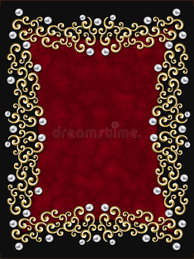 Free Elegant Vintage Swirl Frame Royalty Free Stock Images - 2373939