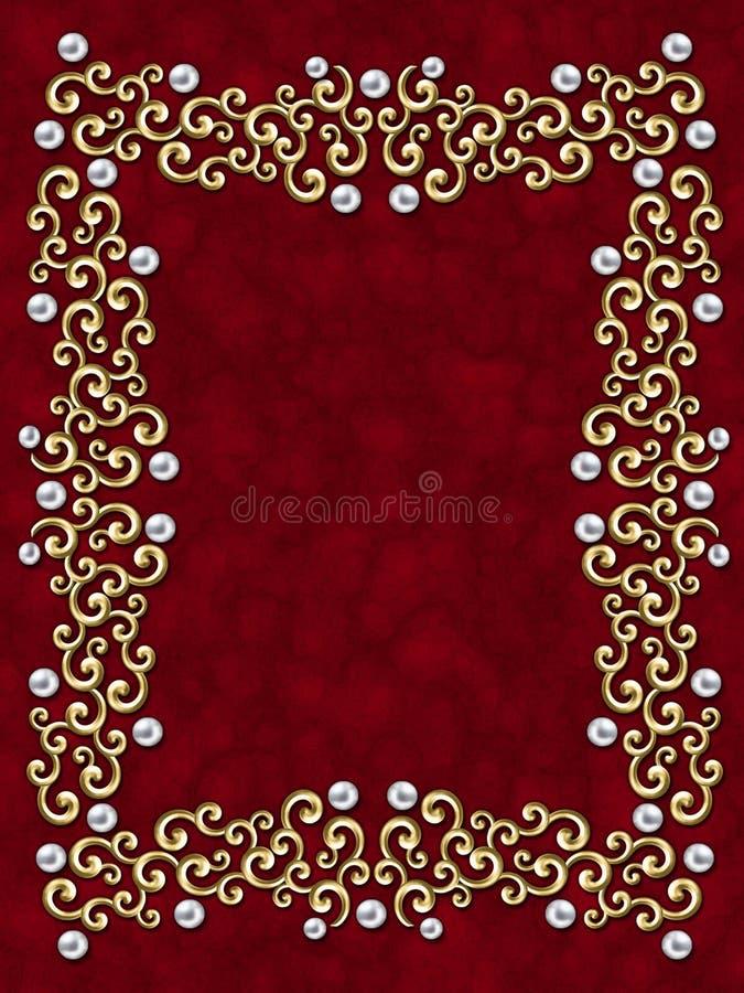 Free Elegant Vintage Swirl Frame Stock Photo - 2375790