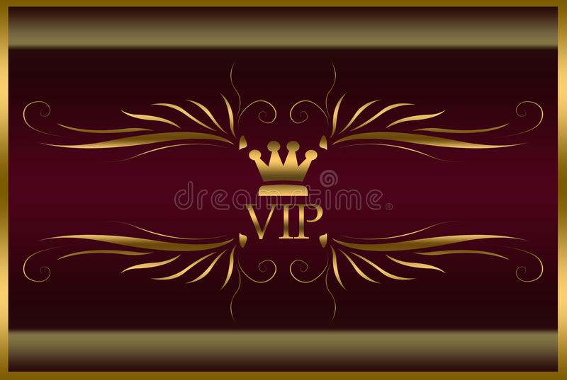 Download Elegant VIP card stock illustration. Image of original - 13752080