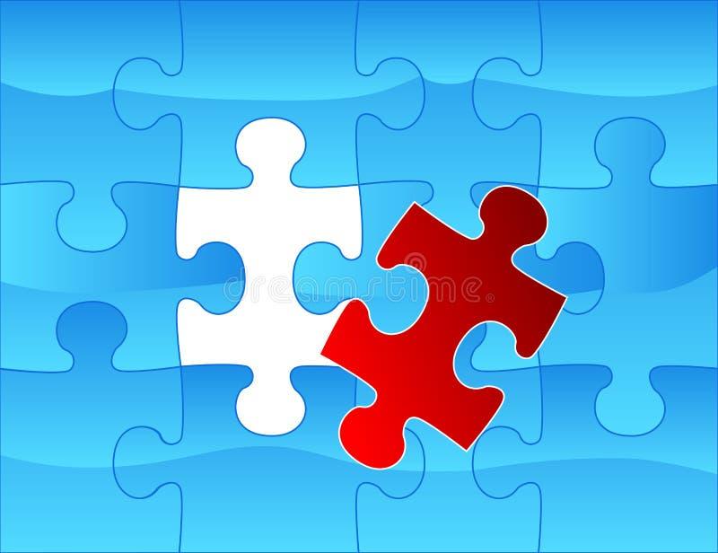 Elegant Web2 Style Puzzle Background Royalty Free Stock Image