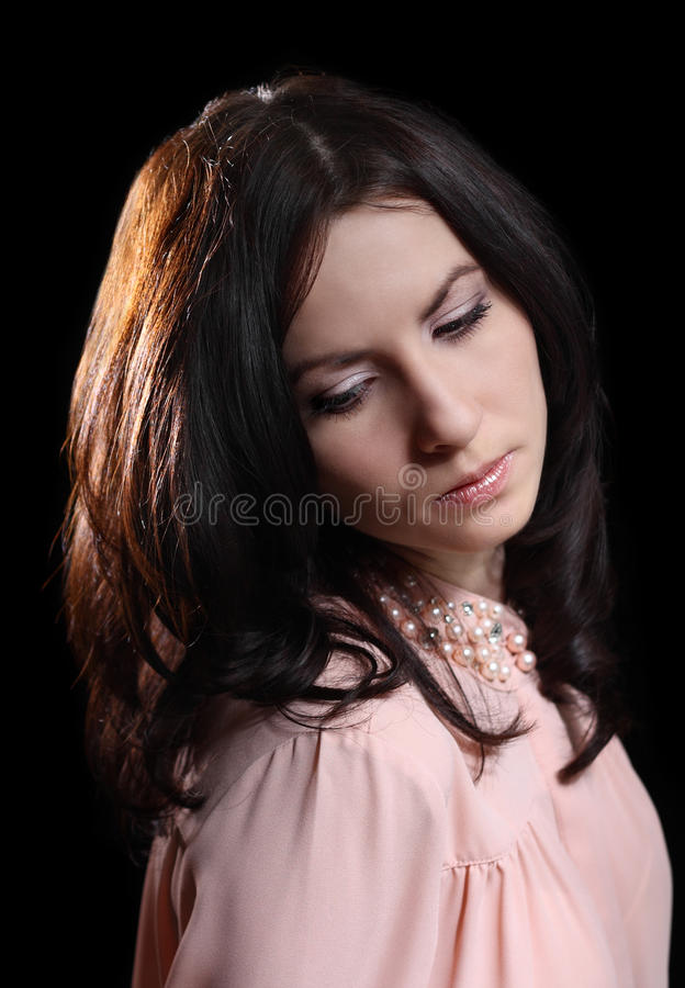 Elegant Woman Royalty Free Stock Images