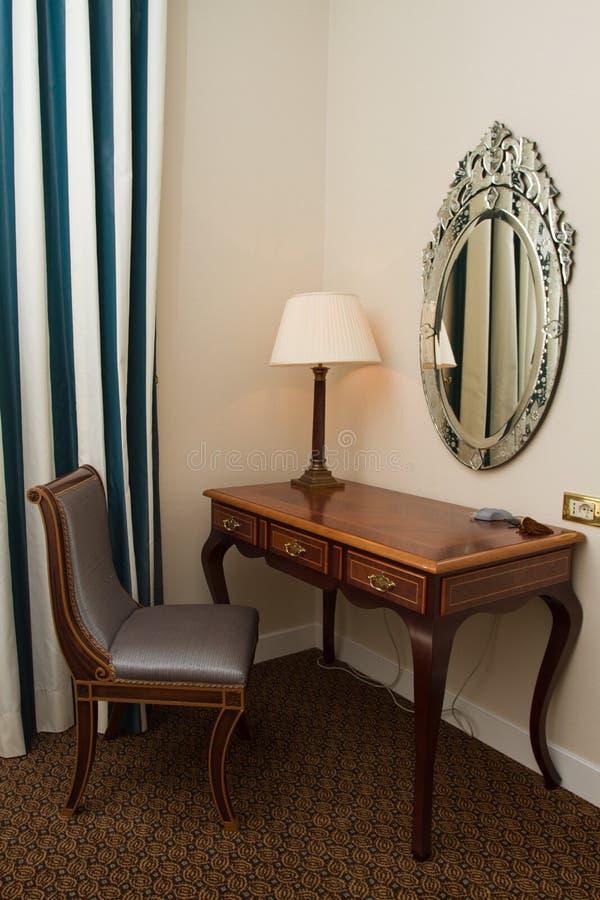 Elegant working corner stock photo