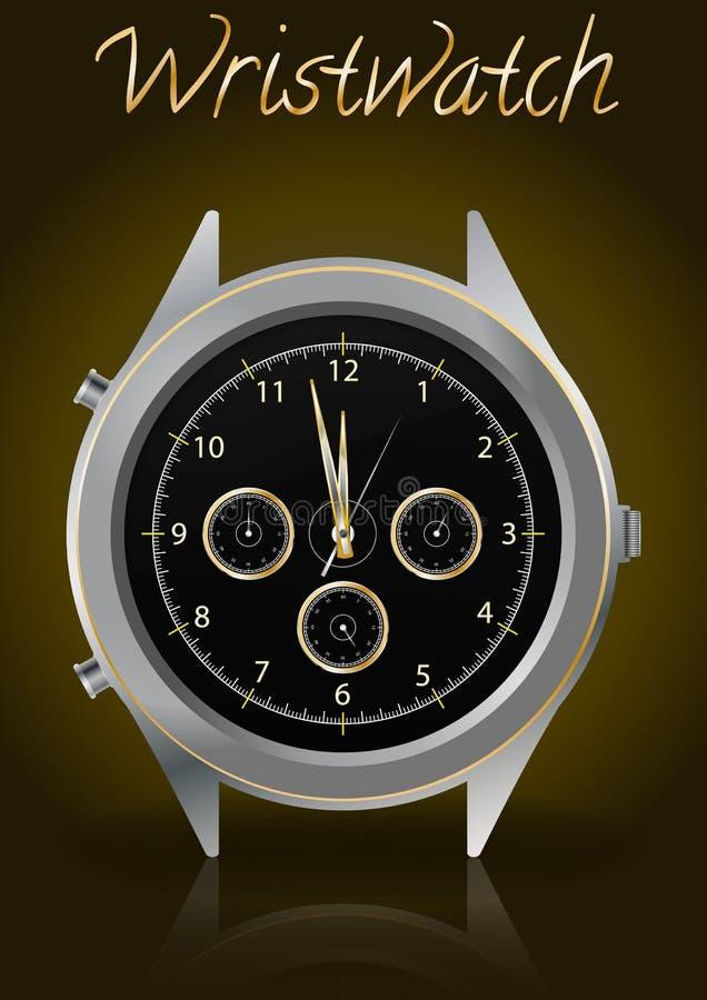 Elegant Wristwatch Royalty Free Stock Image