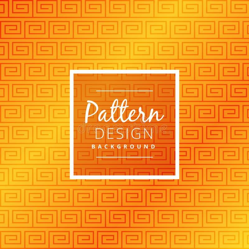 Elegant yellow seamless pattern vector design illustration stock illustration