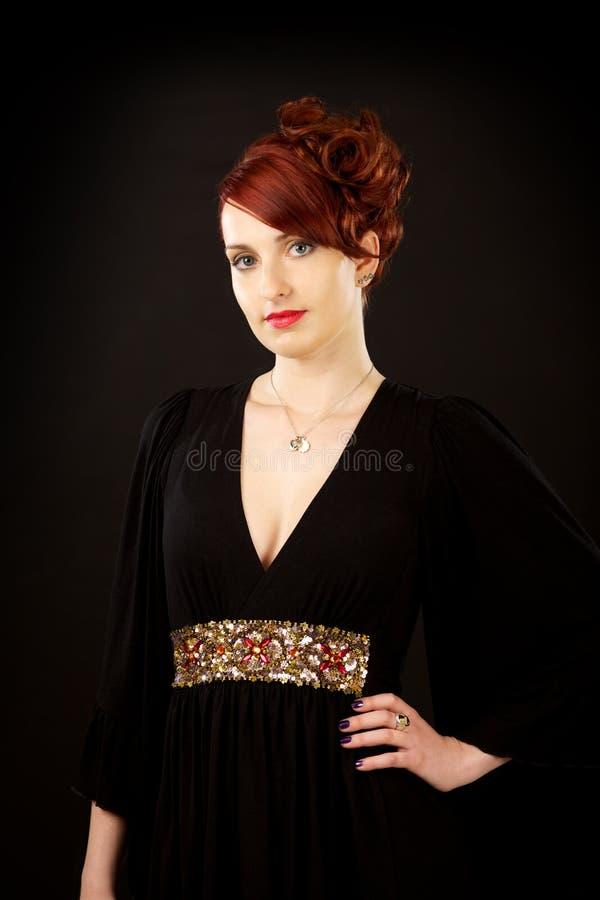 Download Elegant Young Beautiful Woman Stock Image - Image: 15400181