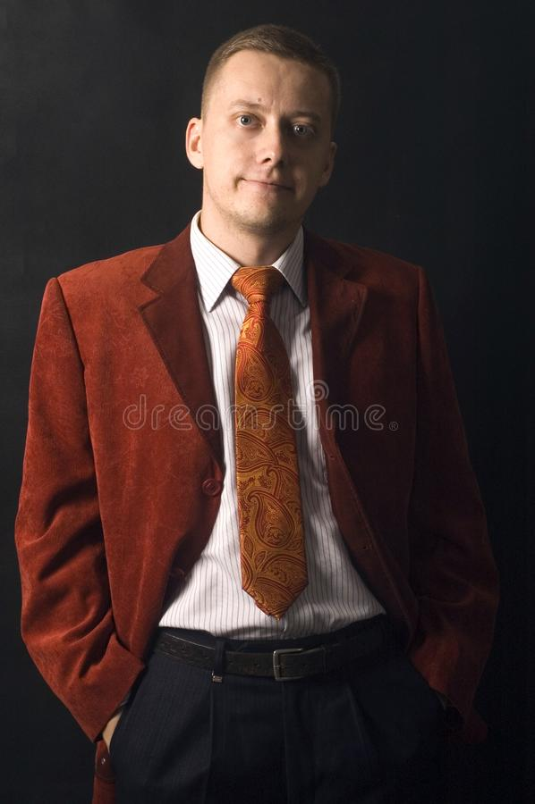 Elegant young businessman