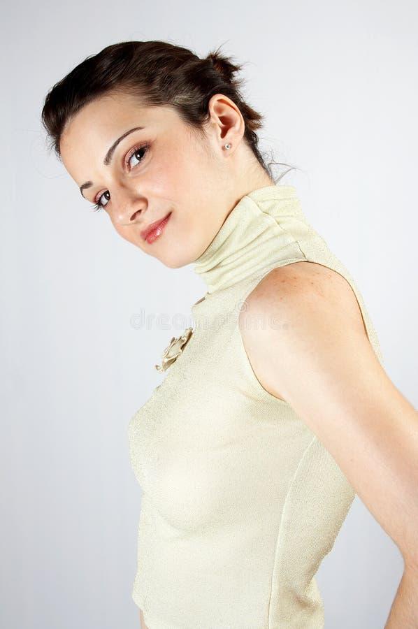 Elegant young girl 02 royalty free stock photo