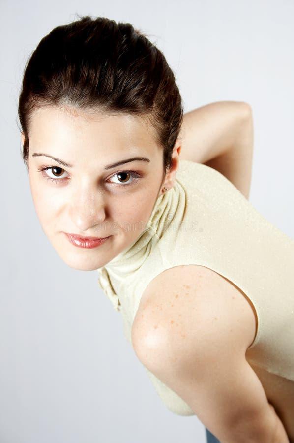Elegant young girl royalty free stock photo