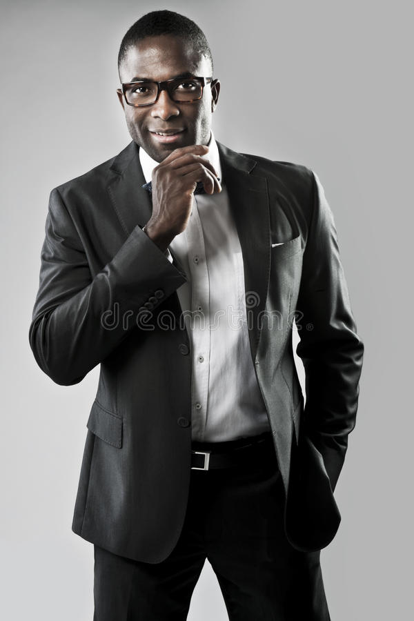 Elegant Young Man Stock Images