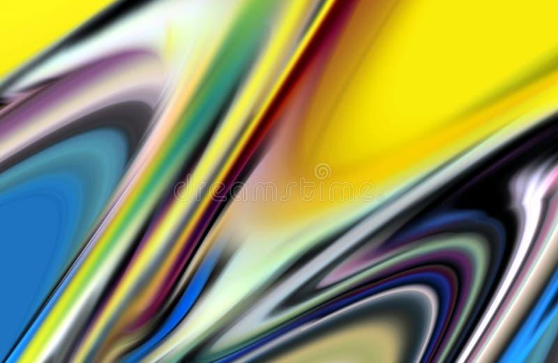 Eleganta mjuka vågformer, abstrakt bakgrund för kontrast vektor illustrationer