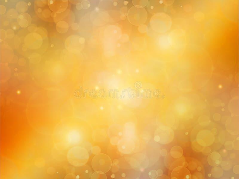 Elegante abstracte gouden achtergrond stock illustratie