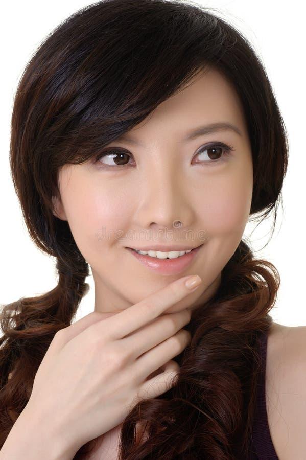 Elegante Aziatische schoonheid royalty-vrije stock foto