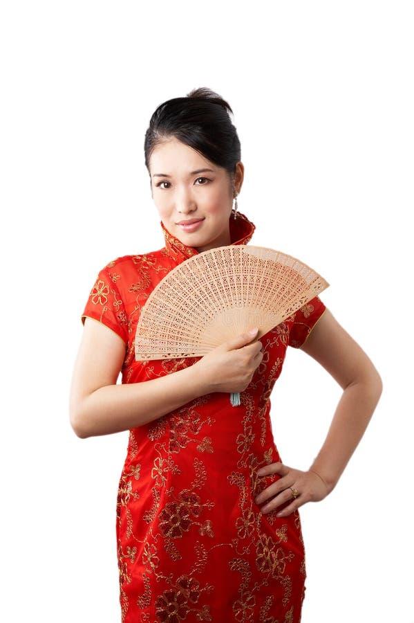 Elegante Aziatische vrouw stock afbeeldingen