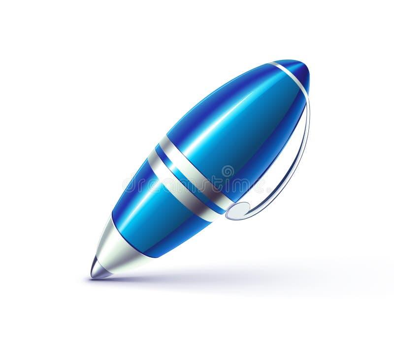 Elegante ballpoint vector illustratie
