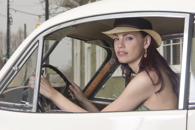 Elegante bestuurder stock fotografie