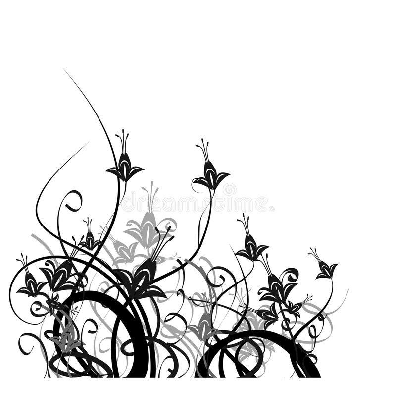 Elegante bloementuin
