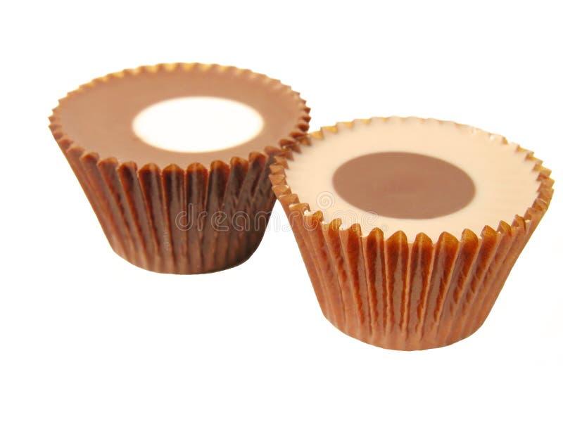 Elegante chocolade stock afbeelding