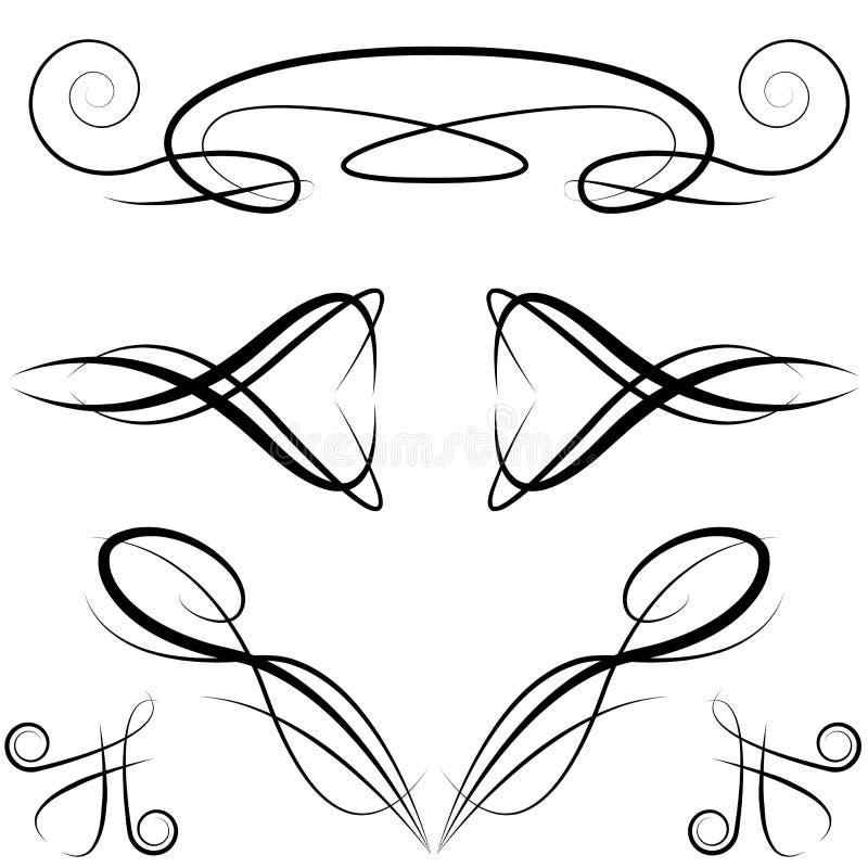 Elegante Formale Einladungs-Auslegung-Elemente Vektor Abbildung ...